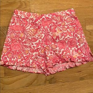 Lilly Pulitzer girls shorts size L 8/10